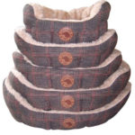 Country Pet Luxury Tweed dog bed