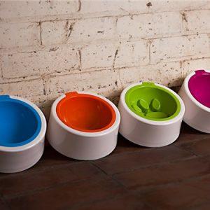 Modern dog bowl
