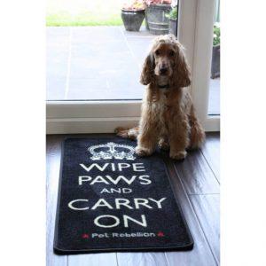 Dog runner mat