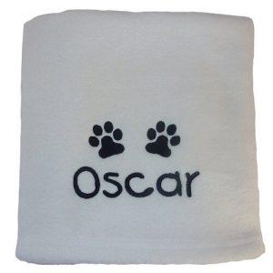 Personalised dog Blankets
