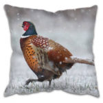 Country Cushion With Pheasant