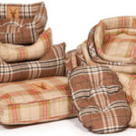 Comfortable snuggled dog beds
